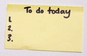 Making Your To-Do List a Habit