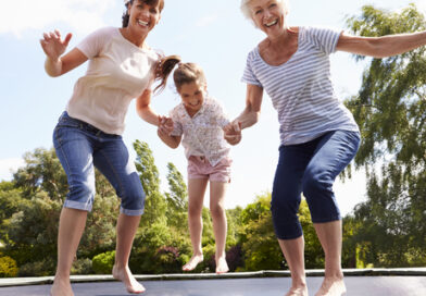 Why I Love My Trampoline as a Work At Home Mum