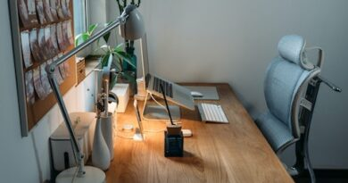 Home Office Ergonomics for work from hom mums