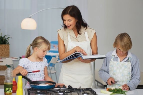 Cooking Healthy Meals for Kids