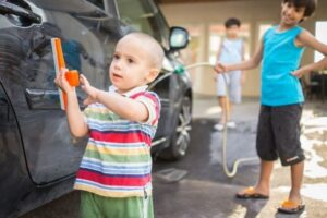 Steps to Washing the Family Car
